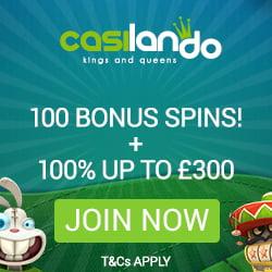 Casilando casino 10 no deposit free spins bonus