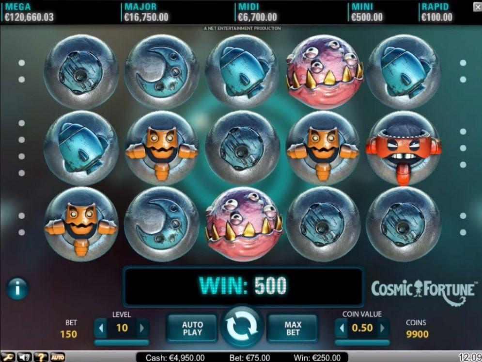 Cosmic Fortune Slot bonus free spins