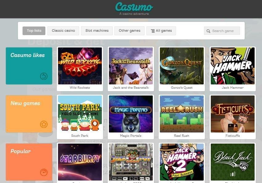 CasumoGames Bonus freespins