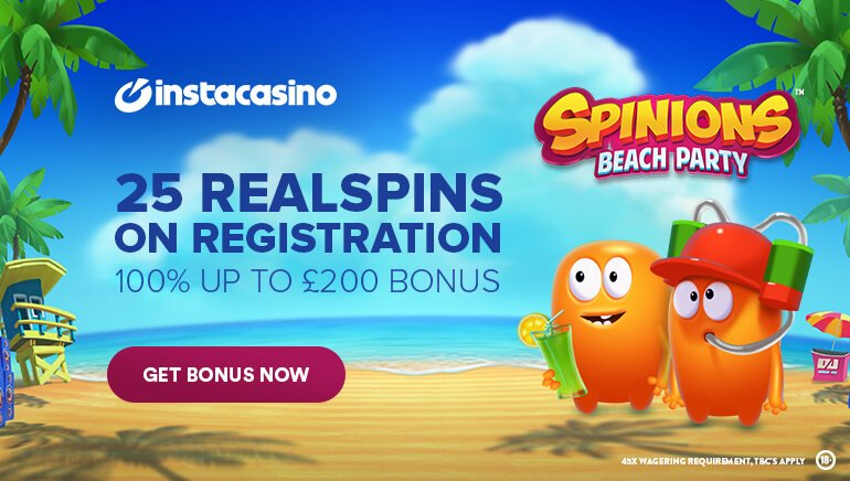InstaCasino free spins no deposit keep your winnings