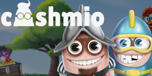 Cashmio CAsino no deposit free spins