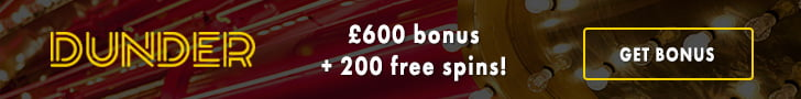 Dunder Casino Free spins no deposit required
