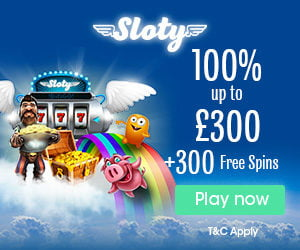 Sloty New Casino 2017 Welcome Bonus